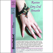 Russian Long Leaf Bracelet Pattern